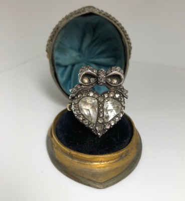 Georgian Silver and Gold Ring
