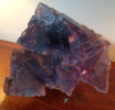 Fluorite  - A large Cabinet Specimen :      Cave-in-Rock District, Illinois