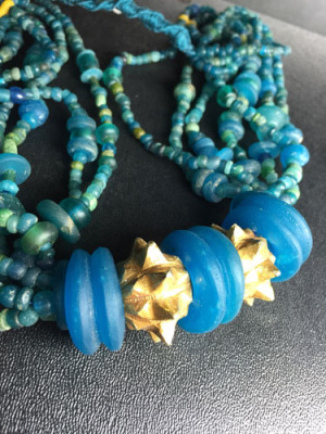 Antique Glass Burmese Beads